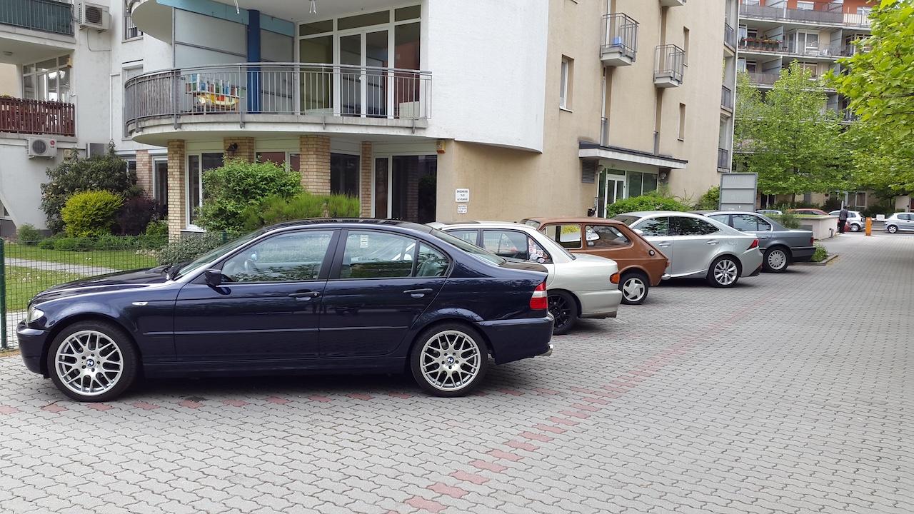 Eklektika a parkolóban